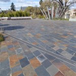 Pyrenees Slate paving Bendigo Chinese Gardens