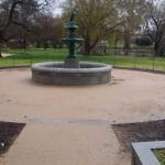 Heritage fountain Castlemaine Botanical Gardens