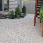 Courtyard area with Lilydale Topping surface